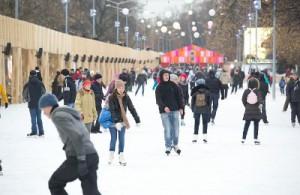 На массовое катание на коньках приглашаются все желающие