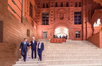Мэр Москвы Сергей Собянин посетил здание Геликон-оперы