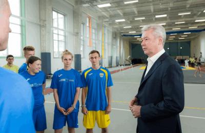 Сергей Собянин поздравил призеров Европейских игр в Центре спортивных инновационных технологий