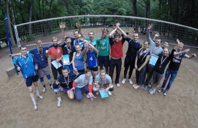 Соревнования по пляжному волейболу прошли в парке «Царицыно»