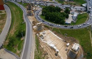 Развязки на пересечении МКАД и Каширского шоссе