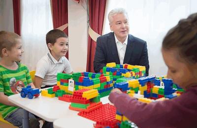 Сергей Собянин открыл два новых детских сада в районе Бескудниково