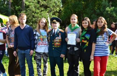 Молодежная палата района Царицыно приняла участие в организации военно-патриотической зарницы