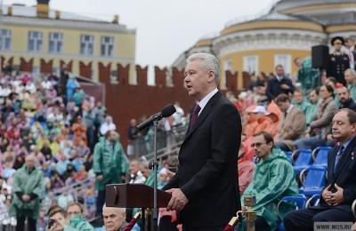 Мэр Москвы Сергей Собянин поздравил всех жителей столицы