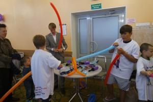 Дмитрий Майоров также принял участие в мастер-классах для детей