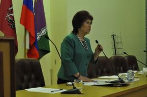 Председатель Совета ветеранов Южного округа Елена Дубман