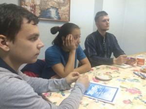 Итоги работы за декабрь подвели молодые парламентарии района Царицыно