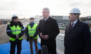 Мэр Москвы Сергей Собянин высказал ожидания относительно скорого улучшения транспортной ситуации на одном из самых проблемных перекрестков в столице