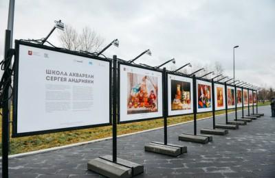 В парке «Садовники» открылась зимняя фотовыставка