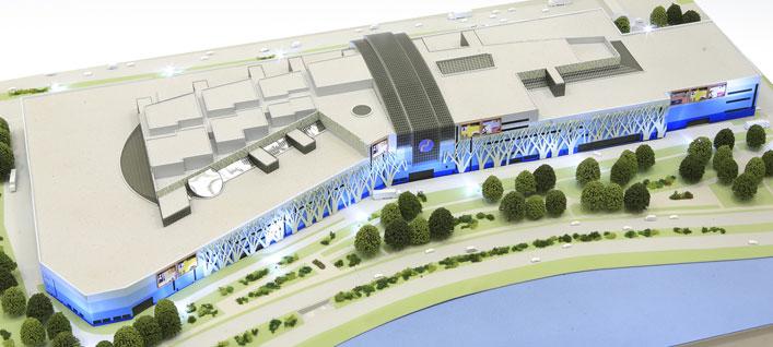 В ЮАО до конца года планируют достроить крупный торговый центр в районе  промзоны ЗИЛ dce0744bf69