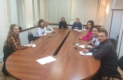 Молодые парламентарии района Царицыно обсудили планы на 2016 год