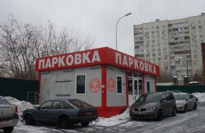 Зона парковки на территории района Царицыно