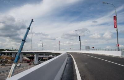 Строительство одного из участков Южной рокады завершится в 2017 году