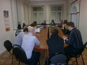 Члены молодежной палаты района Царицыно