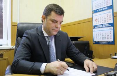 На фото начальник отделения военного комиссариата по Царицынскому району ЮАО Павел Сорокопуд
