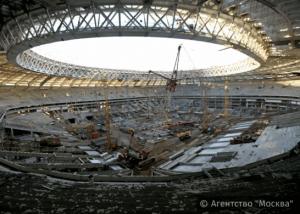 Реконструкция стадиона «Лужники» в Москве