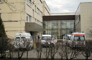 На фото станция переливания крови в районе Царицыно