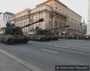 В Москве 5 и 7 мая будут проводиться репетиции парада Победы, приуроченного к 71-й годовщине окончания Великой Отечественной войны