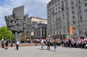 Памятник ополченцам Пролетарского района