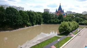 На фото Большой Чертановский пруд