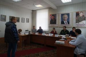 Призывная комиссия в районе Царицыно
