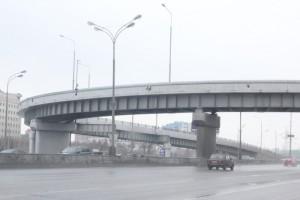 Транспортная развязка на пересечении Каширского шоссе и МКАД