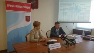 На фото: Марианна Максимовская и Евгений Брюн