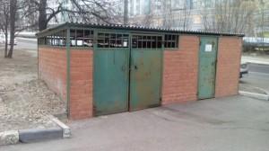 Места сбора мусора в районе Царицыно