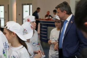 """Выборный: """"Московская смена"""" и детские спортивные мероприятия дают уникальную возможность ребятам провести лето весело, интересно и полезно для здоровья"""