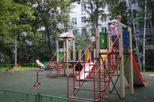Детская площадка на ул. Ереванская в районе Царицыно