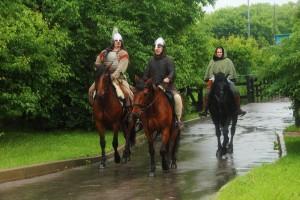 Варяги, викинги и степняки на несколько дней поселились в музее-заповеднике «Коломенское»