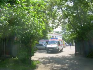 Двор на улице Бехтерева в районе Царицыно