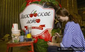 """На фестивале """"Московское варенье"""""""