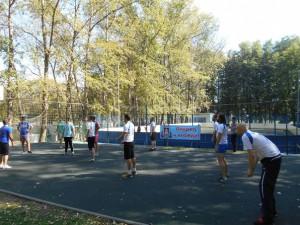 Турнир по волейболу в районе Царицыно