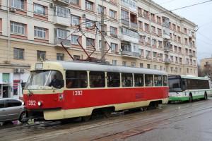 Трамвай №47 в ЮАО