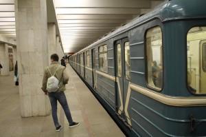 Поезд московского метрополитена