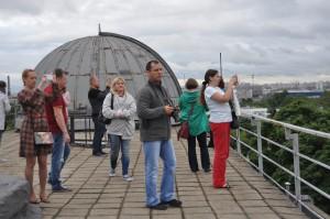 Посетители культурного центра ЗИЛ