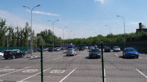 Парковка в районе ЦарицыноПарковка в районе Царицыно