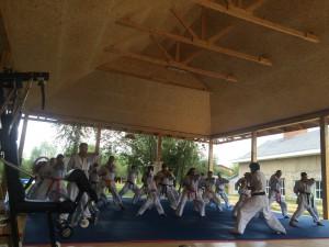 Воспитанники клуба каратэ «Кантемировец»