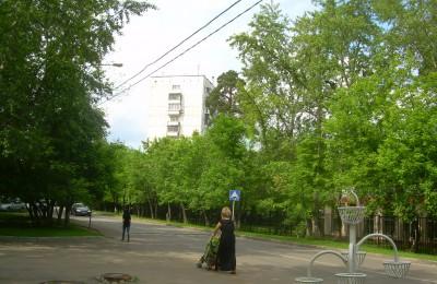 Улица в районе Царицыно