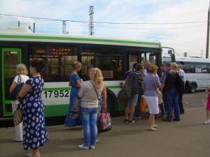 Наземный транспорт в районе Царицыно