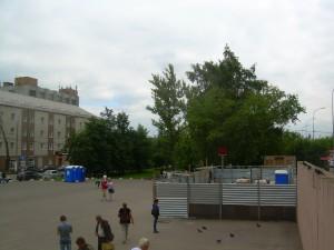 Реконструкция южного вестибюля станции метро Царицыно