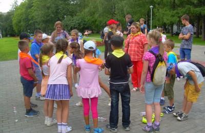 Детское мероприятие в районе Царицыно