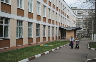Школа №870 в районе Царицыно