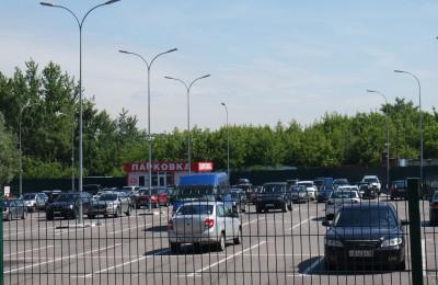 Парковка в районе Царицыно