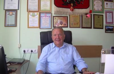 Глава МО Царицыно Степан Иванович Буртник