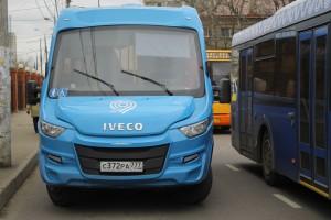 Новые автобусы в районе Царицыно