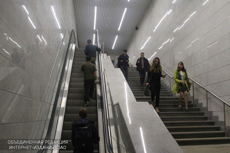 НаМЦК запустили умные эскалаторы