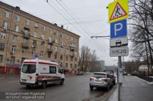 """Парковка в районе """"Царицыно"""""""
