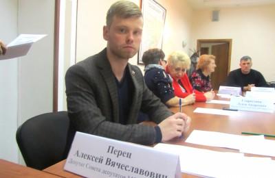 Депутат МО Царицыно Алексей Перец